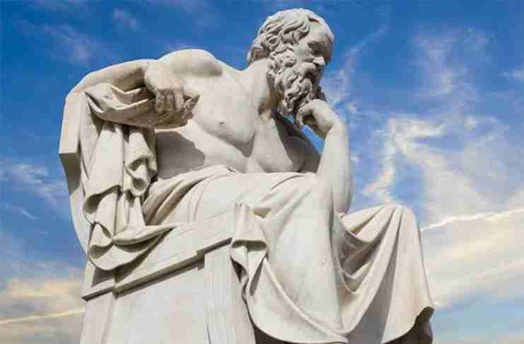 """Η ετυμολογία της λέξης """"άνθρωπος"""" κατά τον Σωκράτη"""