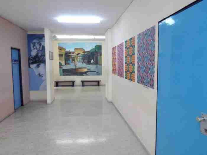 Στα Τρίκαλα υπάρχει ένα σχολείο γεμάτο τέχνη και πίνακες ζωγραφικής (φωτογραφίες)