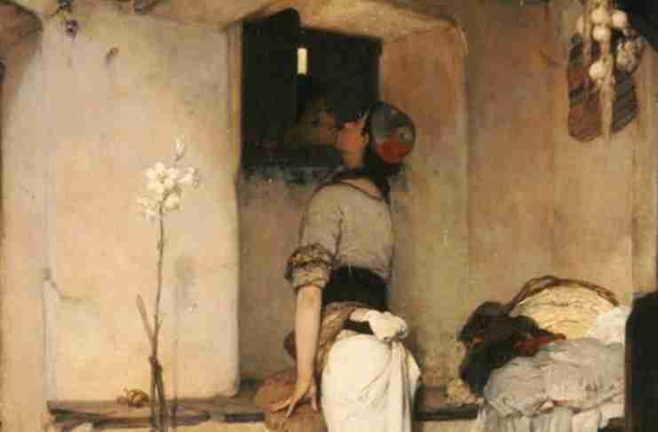Το «Φιλί» του Νικηφόρου Λύτρα:  Το πιο τολμηρό ερωτικό έργο για την εποχή του