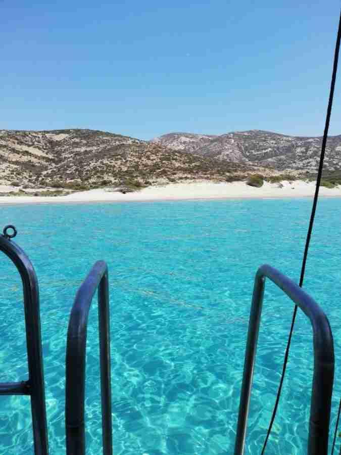 Πολύαιγος: To μεγαλύτερο ακατοίκητο νησί του Αιγαίου με τις φυσικές πισίνες